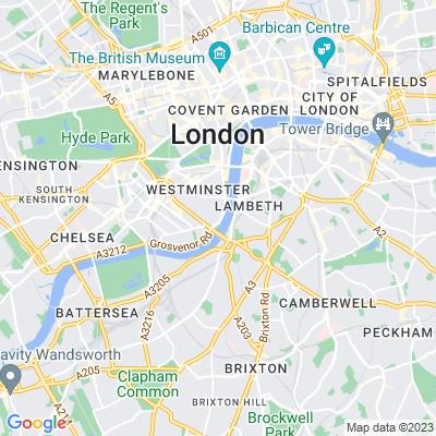 Tate Britain Gardens Location