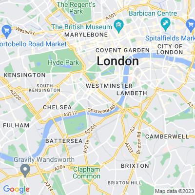 Warwick Square, Pimlico Location