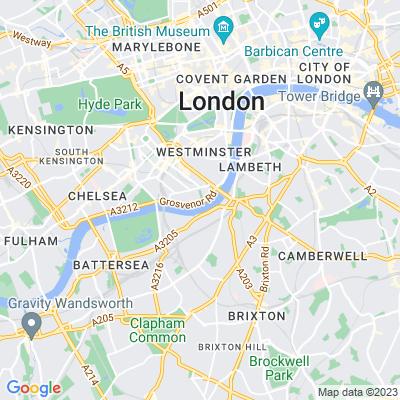 Pimlico Gardens Location