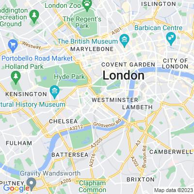 Upper Grosvenor Garden Location