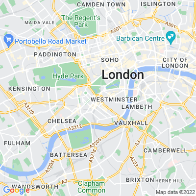 Lower Grosvenor Garden Location