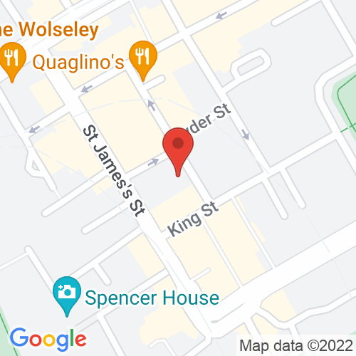 Google Map of Martyn Gregory Gallery