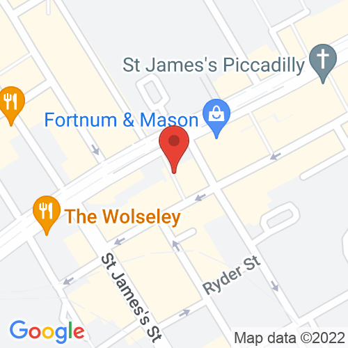 Google Map of The Armoury of St. James's