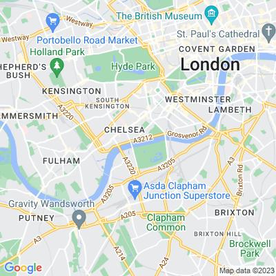 Chelsea Physic Garden Location