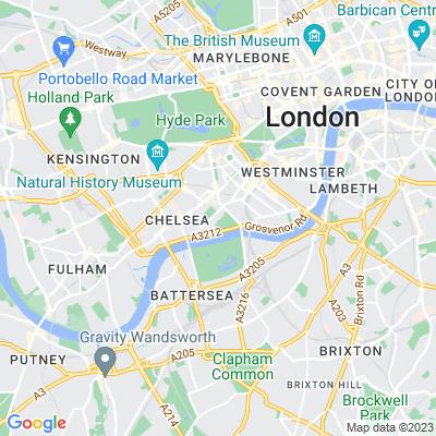 Royal Hospital, Chelsea, and Ranelagh Gardens Location