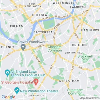 Clapham Common, Lambeth Location