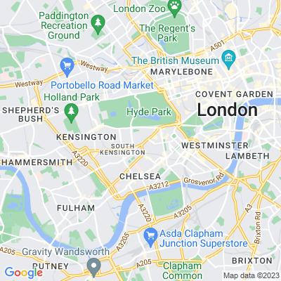 Holy Trinity Churchyard, Kensington & Chelsea Location