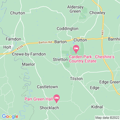 Stretton Hall Location