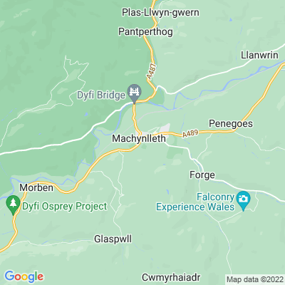 Plas Machynlleth Location