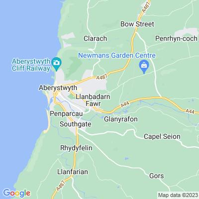 Llanbadarn Campus, Aberystwyth University Location