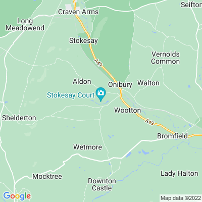 Stokesay Court Location