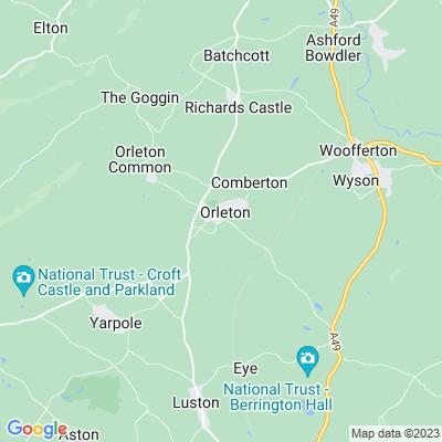 Orleton Manor Location