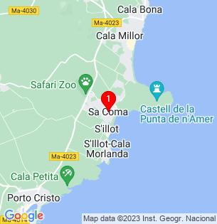 Google Map of Sa Coma, Baleares, Spain