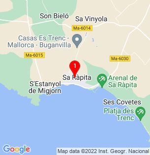 Google Map of Sa Rapita, Baleares, Spain