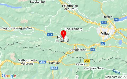 Google Map of Saak 138 9611 Nötsch im Gailtal