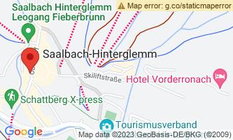 Google Map of Saalbach, AT