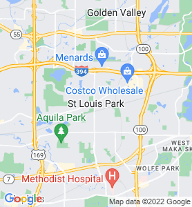 Saint Louis Park MN Map