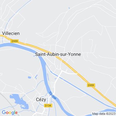 bed and breakfast Saint-Aubin-sur-Yonne