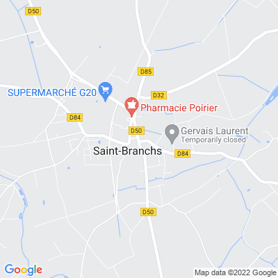 bed and breakfast Saint-Branchs