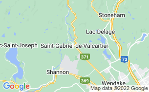 Map of Valcartier Village Vacances