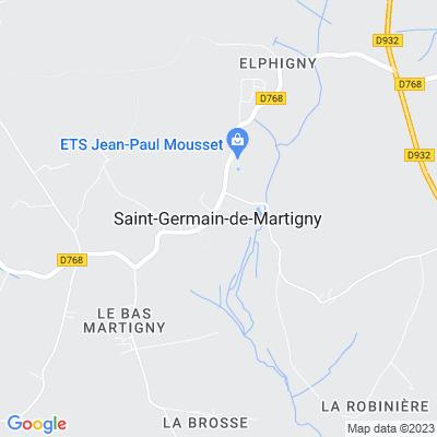 bed and breakfast Saint-Germain-de-Martigny
