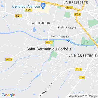 bed and breakfast Saint-Germain-du-Corbéis