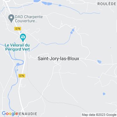 bed and breakfast Saint-Jory-las-Bloux