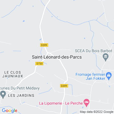 bed and breakfast Saint-Léonard-des-Parcs