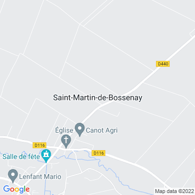 bed and breakfast Saint-Martin-de-Bossenay