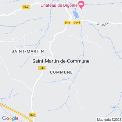 bed and breakfast Saint-Martin-de-Commune