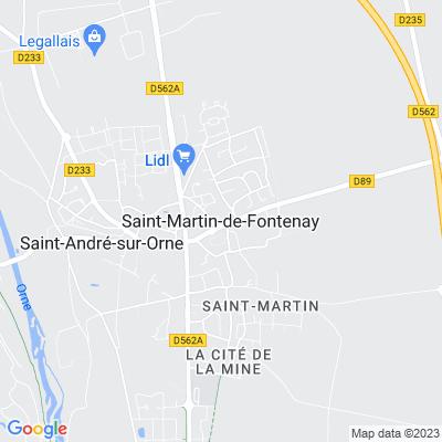 bed and breakfast Saint-Martin-de-Fontenay