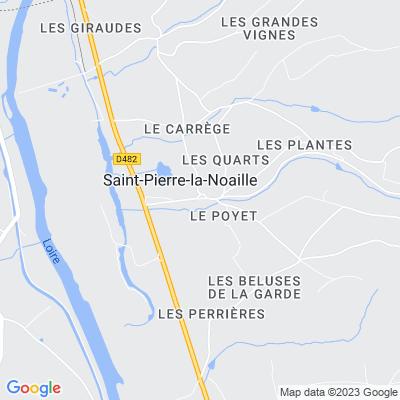 bed and breakfast Saint-Pierre-la-Noaille