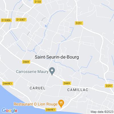 bed and breakfast Saint-Seurin-de-Bourg