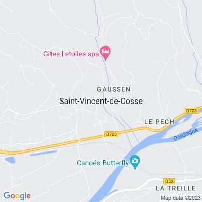 bed and breakfast Saint-Vincent-de-Cosse