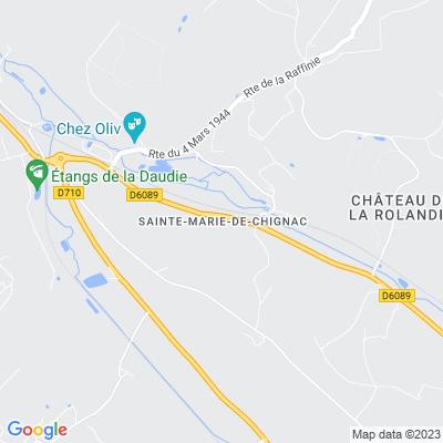 bed and breakfast Sainte-Marie-de-Chignac