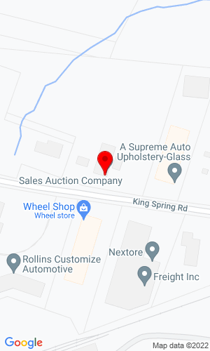Google Map of Sales Auction Company LLC 55 King Spring Road, Windsor Locks, CT, 06096