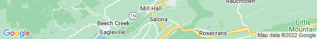 Map of PA