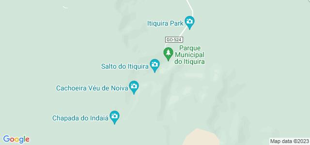 Salto do Itiquira, Salto do Itiquira, Formosa - GO