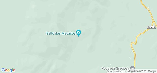 Salto dos Macacos, Parque Estadual do Marumbi, Morretes - Paraná