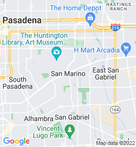 San Marino CA Map