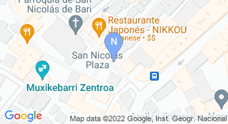 Nikkou jatetxea mapa