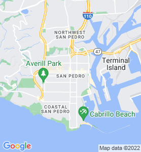 San Pedro CA Map