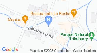 LA KOSKA JATETXEA mapa