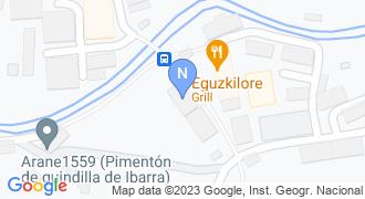 Ibarrako udaletxea mapa