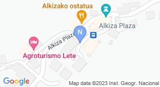Alkizako udaletxea mapa