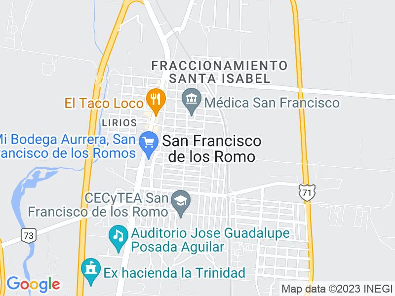 San Francisco de los Romo, Aguascalientes