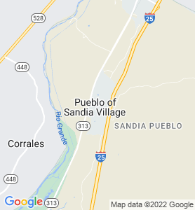 Sandia Pueblo NM Map