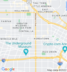 Sanford CA Map