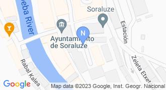 San Andres iturgintza mapa