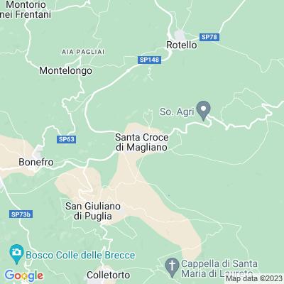 cartina Santa Croce Di Magliano